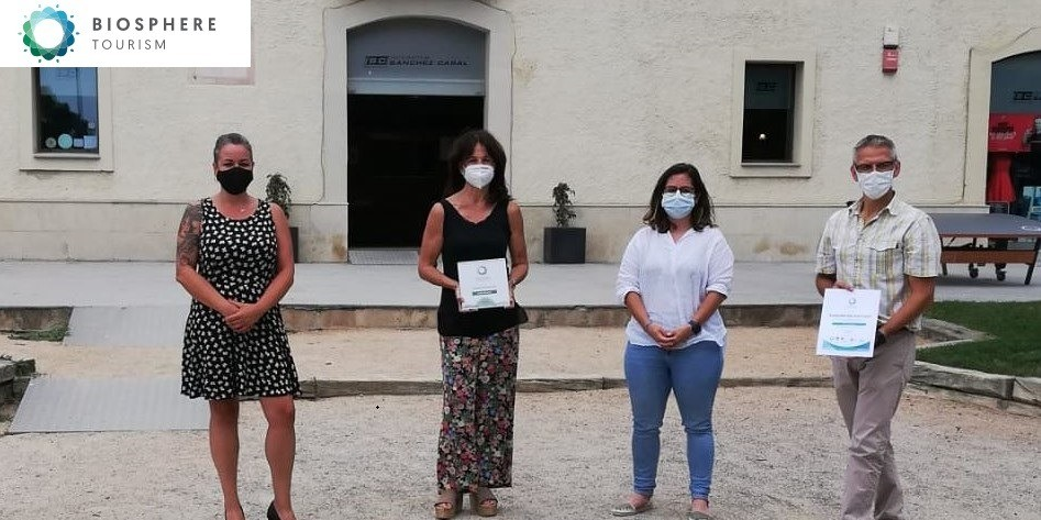 The Sánchez-Casal Academy obtains the Biosphere distinction of responsible tourism