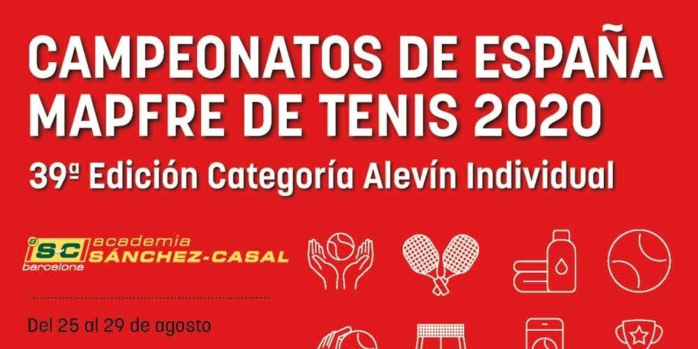The Sanchez-Casal Academy hosts the Spanish MAPFRE Alevín Tennis Championships