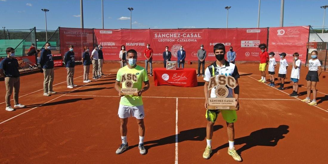 CARLOS ALCARAZ, CLINCHES TITLE III SÁNCHEZ-CASAL LEOTRÓN TOURNAMENT CATALONIA, ATP CHALLENGER TOUR